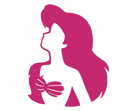 Ariel The Little Mermaid (b) Die Cut Vinyl Decal Sticker