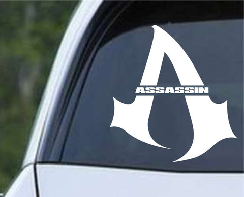 Assassin Clan Die Cut Vinyl Decal Sticker