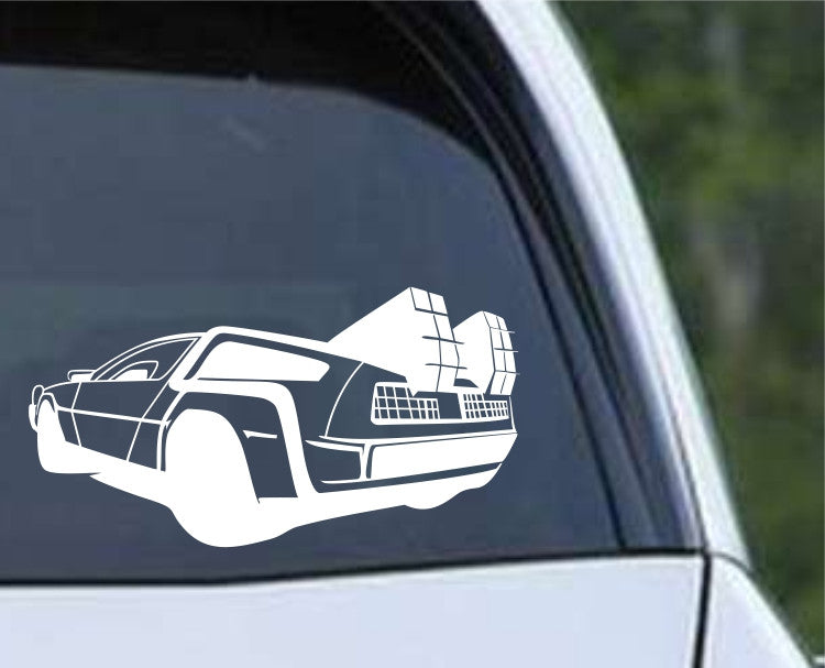 Back to The Future - DeLoren (a) Die Cut Vinyl Decal Sticker - Decals City