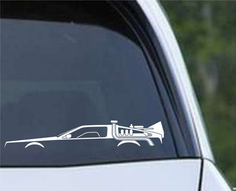 Back to The Future - DeLoren (b) Die Cut Vinyl Decal Sticker - Decals City