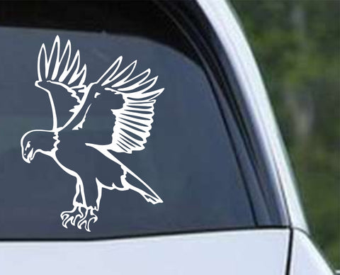 Bald Eagle v2 Die Cut Vinyl Decal Sticker - Decals City