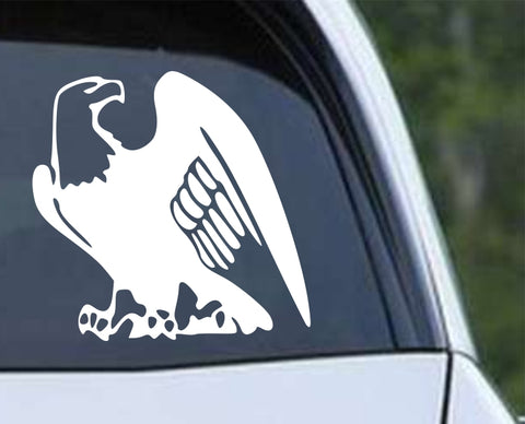Bald Eagle Die Cut Vinyl Decal Sticker - Decals City