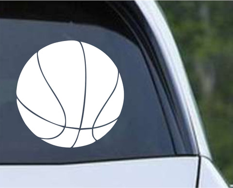Basketball - Ball Die Cut Vinyl Decal Sticker - Decals City