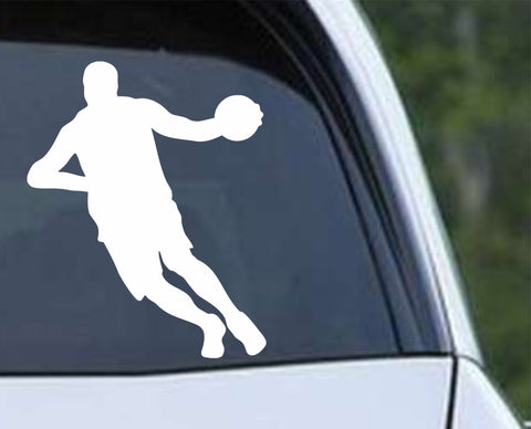 Basketball - Player v7 Die Cut Vinyl Decal Sticker - Decals City