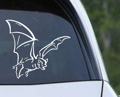 Bat (04) Die Cut Vinyl Decal Sticker - Decals City