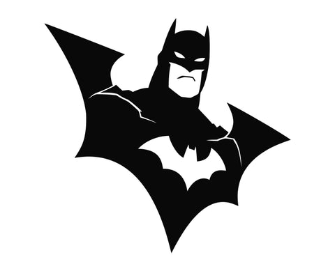 Batman - Wings Die Cut Vinyl Decal Sticker - Decals City