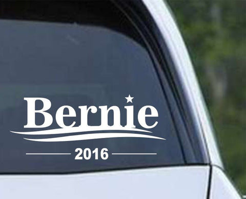 Bernie Sander 2016 President Die Cut Vinyl Decal Sticker - Decals City