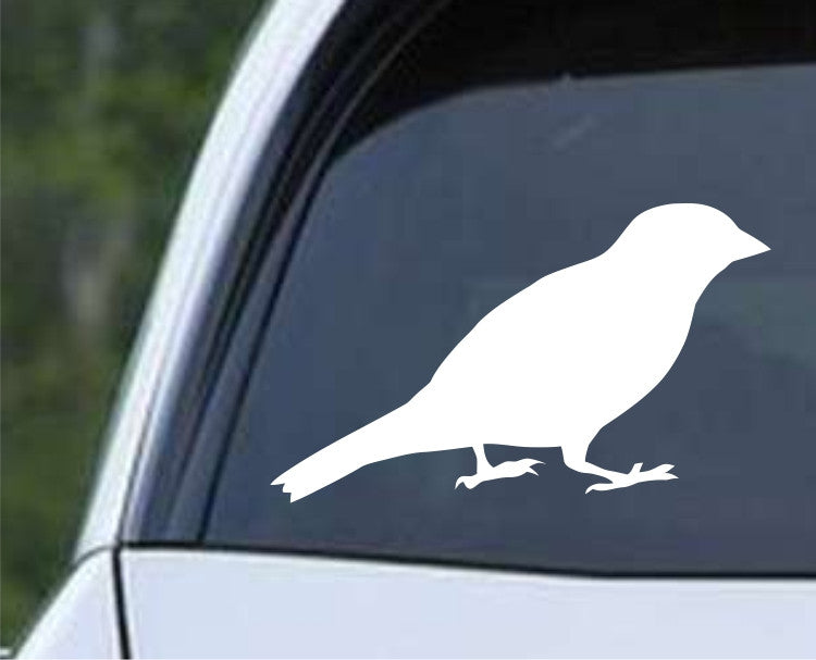 Bird Silhouette (h) Die Cut Vinyl Decal Sticker - Decals City