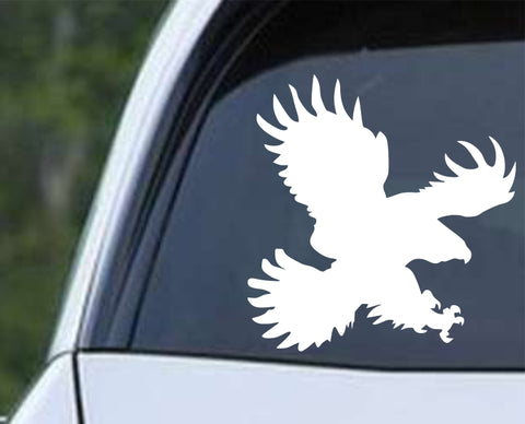 Bird of Prey Eagle, Harris, Hawk, Osprey, Falcon Die Cut Vinyl Decal Sticker - Decals City