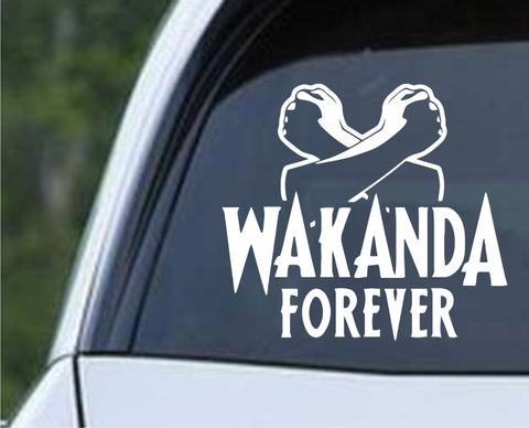 Avengers - Black Panther Wakanda Forever Die Cut Vinyl Decal Sticker