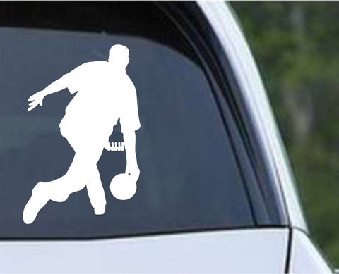 Bowling - Bowler Bowling Ball Pins v11 Die Cut Vinyl Decal Sticker - Decals City