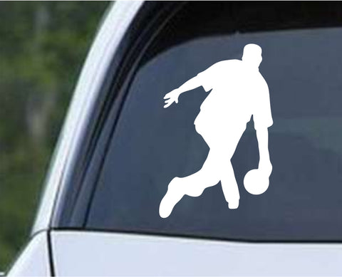Bowling - Bowler Bowling Ball Pins v7 Die Cut Vinyl Decal Sticker - Decals City