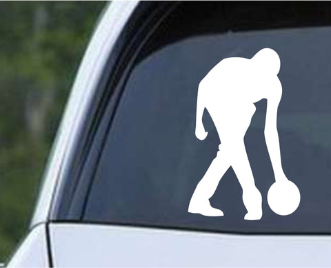 Bowling - Bowler Bowling Ball Pins v8 Die Cut Vinyl Decal Sticker - Decals City