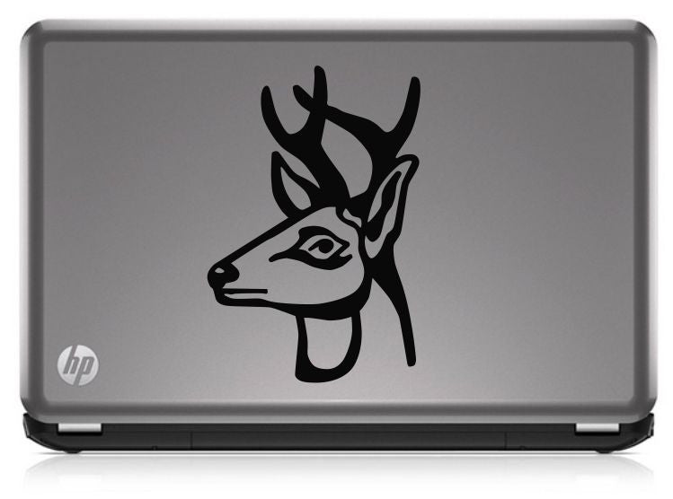 Buck Hunting Profile HNT1-32 Die Cut Vinyl Decal Sticker - Decals City