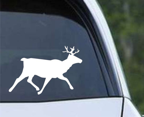 Buck Hunting Running HNT1-30 Die Cut Vinyl Decal Sticker - Decals City