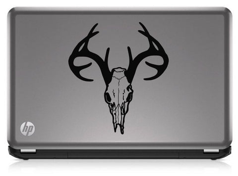 Buck Hunting Skull With Rack HNT1-28 Die Cut Vinyl Decal Sticker - Decals City