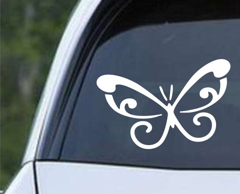Butterfly (02) Die Cut Vinyl Decal Sticker