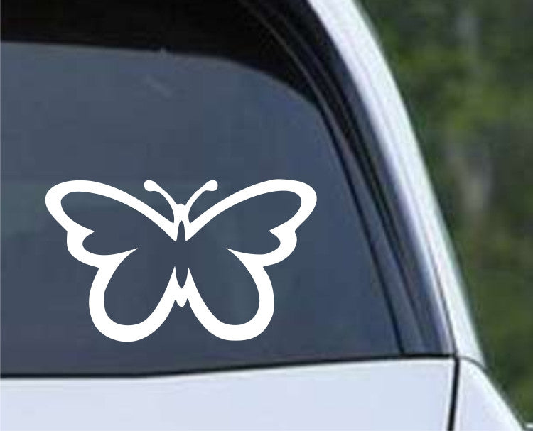 Butterfly (07) Die Cut Vinyl Decal Sticker - Decals City