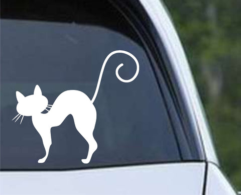 Cat Silhouette (01) Die Cut Vinyl Decal Sticker - Decals City