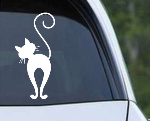 Cat Silhouette (03) Die Cut Vinyl Decal Sticker - Decals City