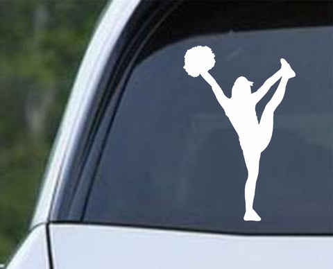 Cheerleader - Silhouette v5 Die Cut Vinyl Decal Sticker - Decals City