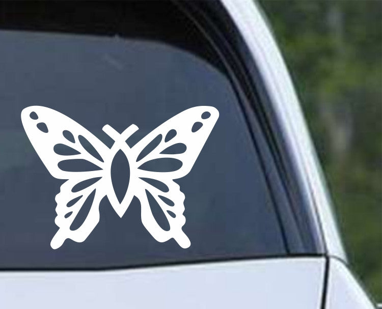 Christian Butterfly Die Cut Vinyl Decal Sticker - Decals City
