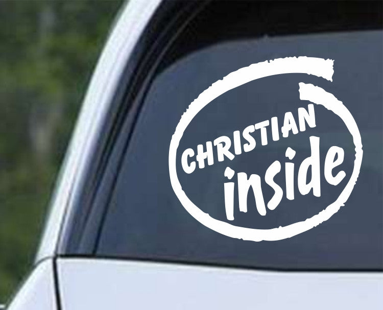 Christian Inside Die Cut Vinyl Decal Sticker - Decals City