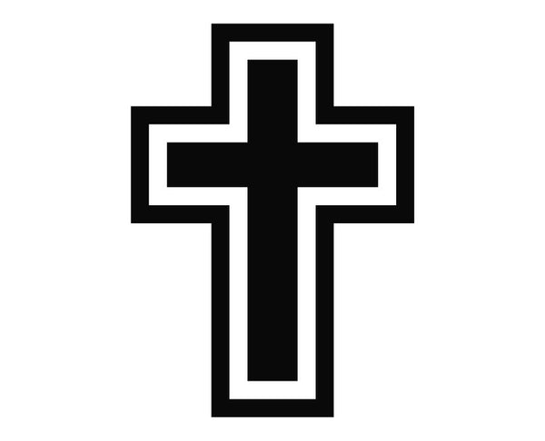 Cross Outline Christian Die Cut Vinyl Decal Sticker Decals City Download free cross outline with powerpoint 2010 along with its recent releases. decals city