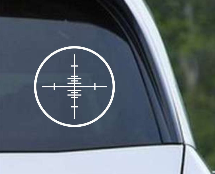 Crosshair Scope Hunting Target HNT1-1 Die Cut Vinyl Decal Sticker - Decals City