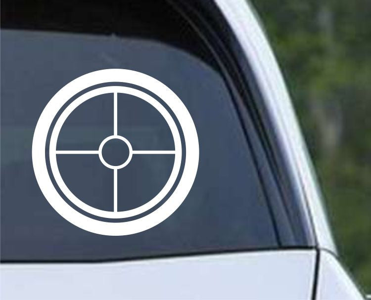 Crosshair Scope Hunting Target HNT1-5 Die Cut Vinyl Decal Sticker - Decals City
