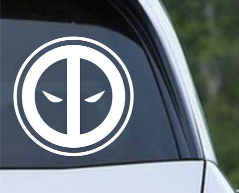Deadpool Inspired Die Cut Vinyl Decal Sticker - Decals City