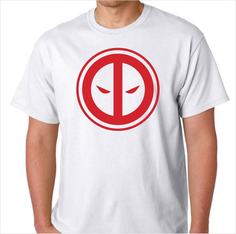 Deadpool Logo Custom Made T-Shirt - Decals City