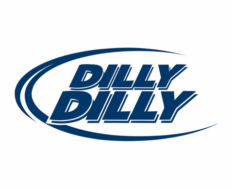 Dilly Dilly Beer Die Cut Vinyl Decal Sticker - Decals City
