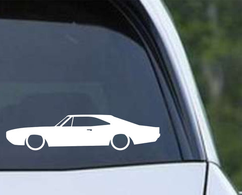 Dodge Charger 1970 Die Cut Vinyl Decal Sticker