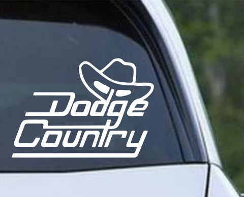 Dodge Country Die Cut Vinyl Decal Sticker - Decals City