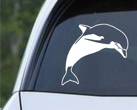 Dolphin Die Cut Vinyl Decal Sticker - Decals City