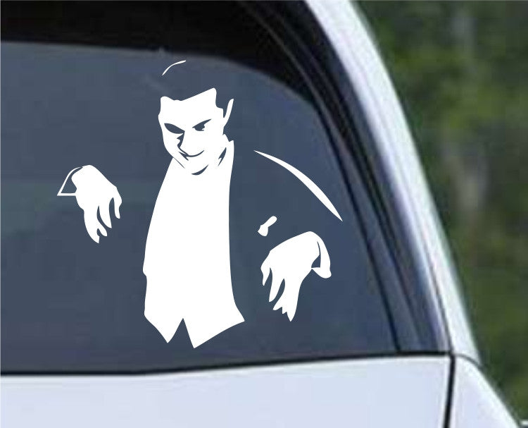 Dracula Bela Lugosi Bram Stoker Die Cut Vinyl Decal Sticker - Decals City