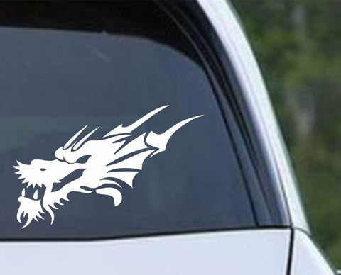 Dragon - Head Die Cut Vinyl Decal Sticker - Decals City