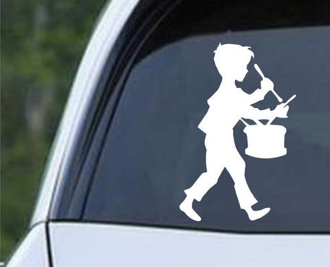 Drummer Boy Die Cut Vinyl Decal Sticker