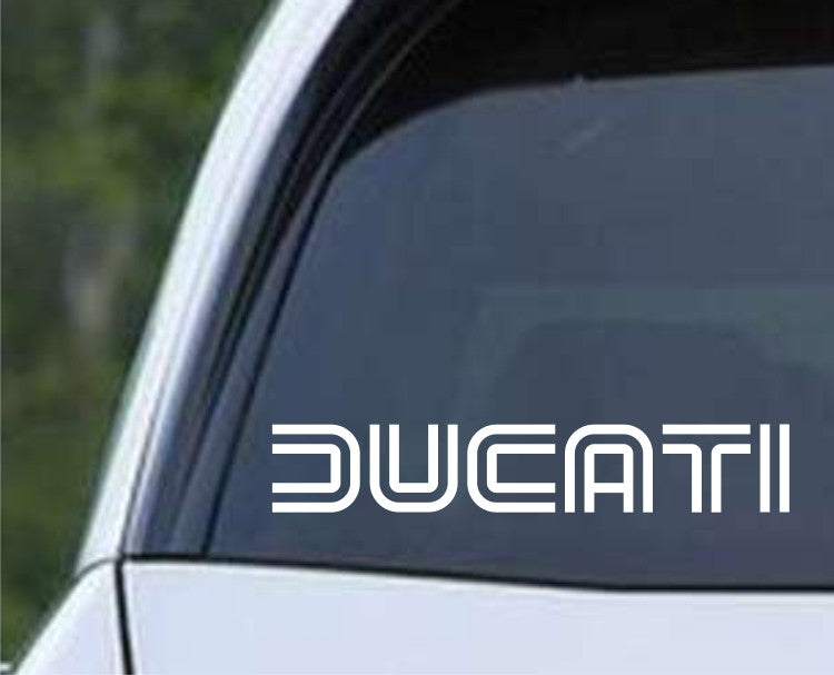 Ducati Motorcycle Die Cut Vinyl Decal Sticker - Decals City