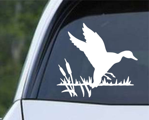 Duck Silhouette (01) Die Cut Vinyl Decal Sticker