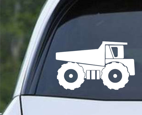 Dump Truck Die Cut Vinyl Decal Sticker - Decals City
