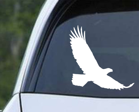 Eagle Silhouette (ver b) Die Cut Vinyl Decal Sticker - Decals City
