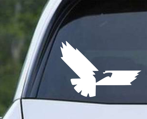 Eagle Silhouette (ver d) Die Cut Vinyl Decal Sticker - Decals City