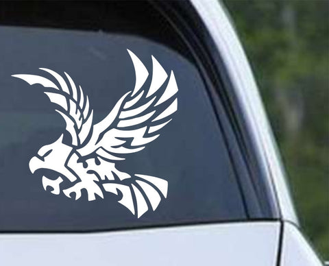 Eagle Silhouette Die Cut Vinyl Decal Sticker