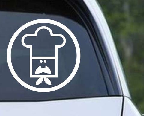 Executive Chef Logo Die Cut Vinyl Decal Sticker