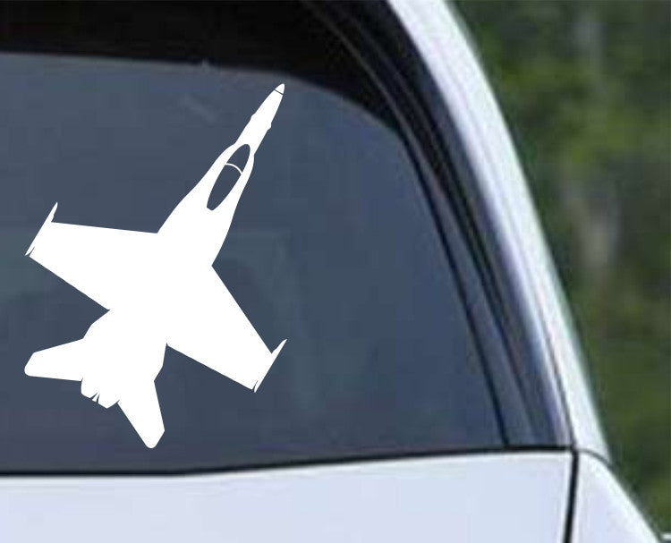 F-18C Hornet Die Cut Vinyl Decal Sticker - Decals City