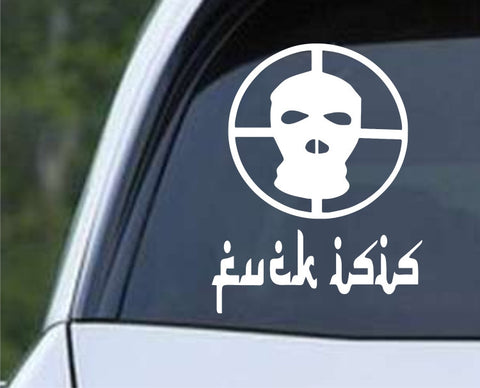 F_ck ISIS Crosshair Anti Terriorist Infidel Funny Die Cut Vinyl Decal Sticker - Decals City