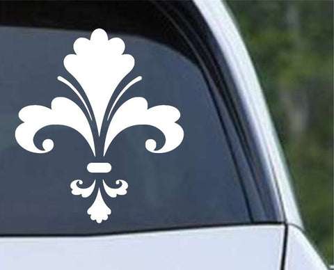 Fleur De Lis (01) Die Cut Vinyl Decal Sticker - Decals City