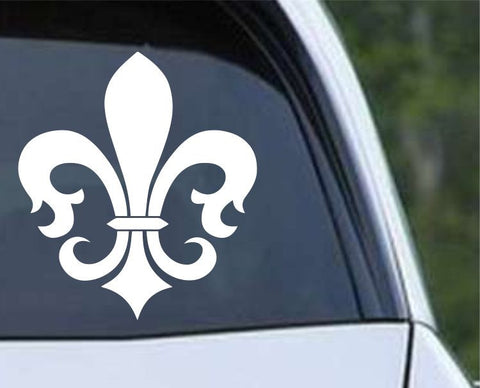 Fleur De Lis (02) Die Cut Vinyl Decal Sticker
